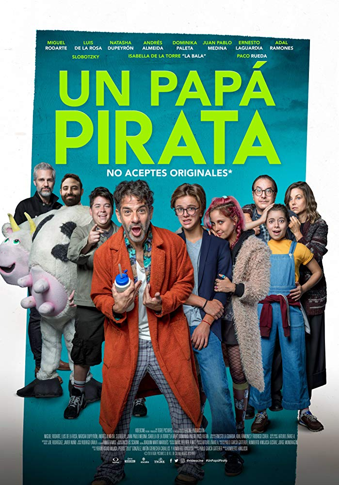 Un Papá Pirata 2019 HD 1080p Español Latino poster box cover