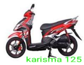 Gambar motor karisma 125