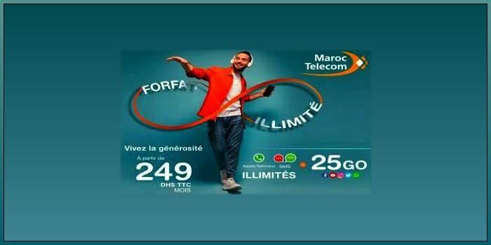 forfait illimite maroc telecom