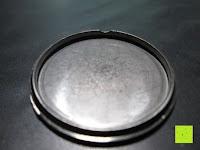 Deckel: Ostan Damen Uhren Mode Weiß Leder Runde Zifferblatt mit Zirkonia Armkette Armband Armbanduhr Uhr