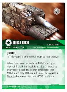 Dog Fight: Starship Edition Double Burst