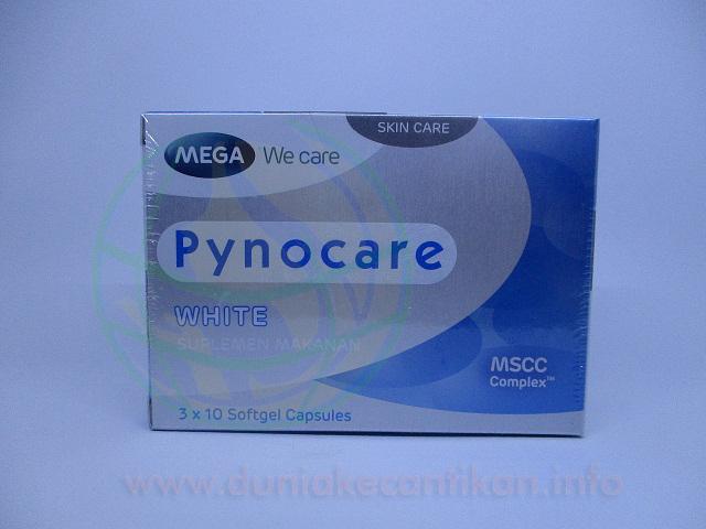 Pynocare White Suplemen Pemutih dari mega we care mengobati flek hitam