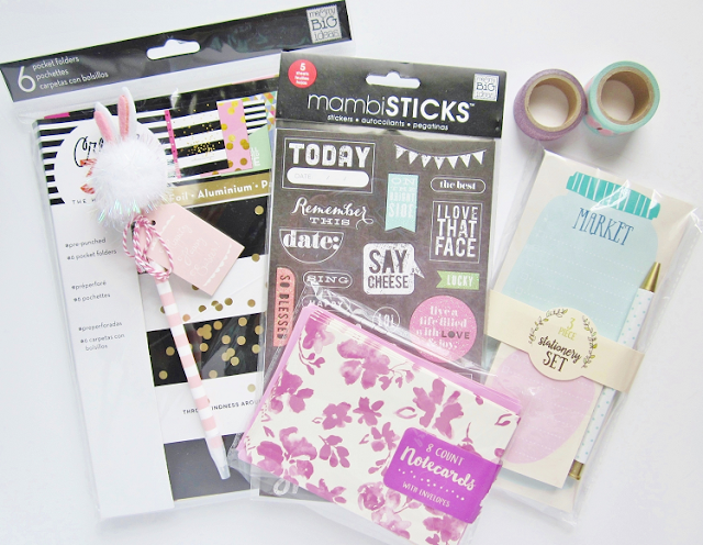 Michaels & Target Stationary Haul