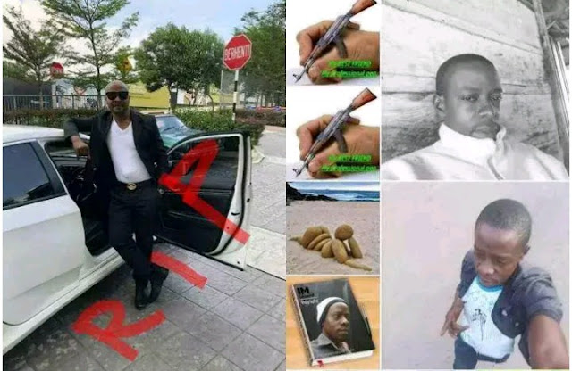 Killed Nigerian man who recently returned from Malaysia, he was killed by his blood brother