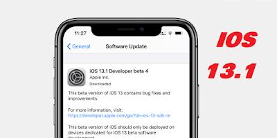 طريقة تحديث الآيفون إلى الإصدار آي أو إس IOS 13.1