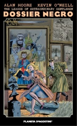Portada The League of Extraordinary Gentlemen: Dossier Negro