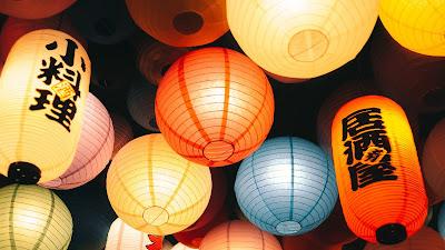 Wallpaper chinese lanterns free HD