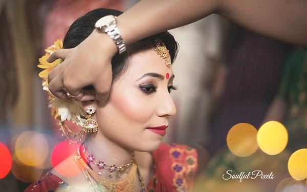 Assamese Bride Makeup