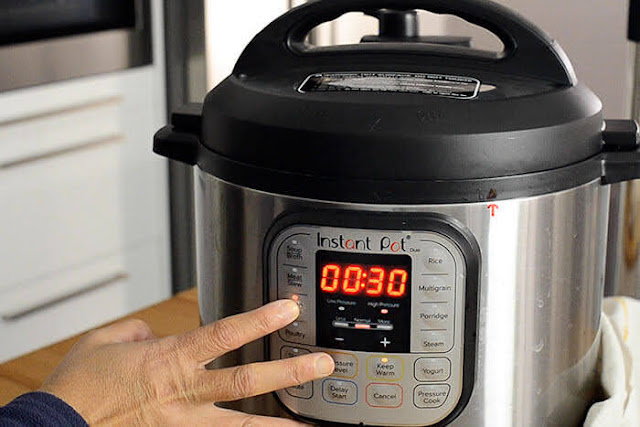 Cook red beans in Instant Pot