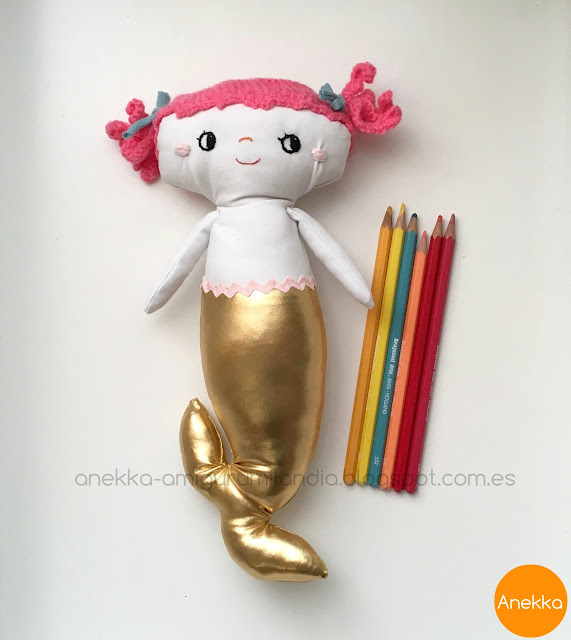 rag doll handmade love