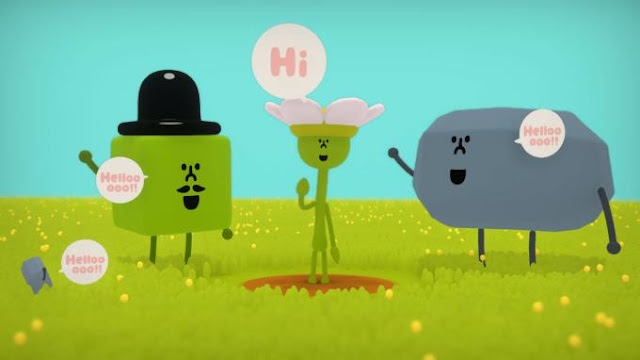 Wattam an unusual arcade game in colorful stylish graphics.