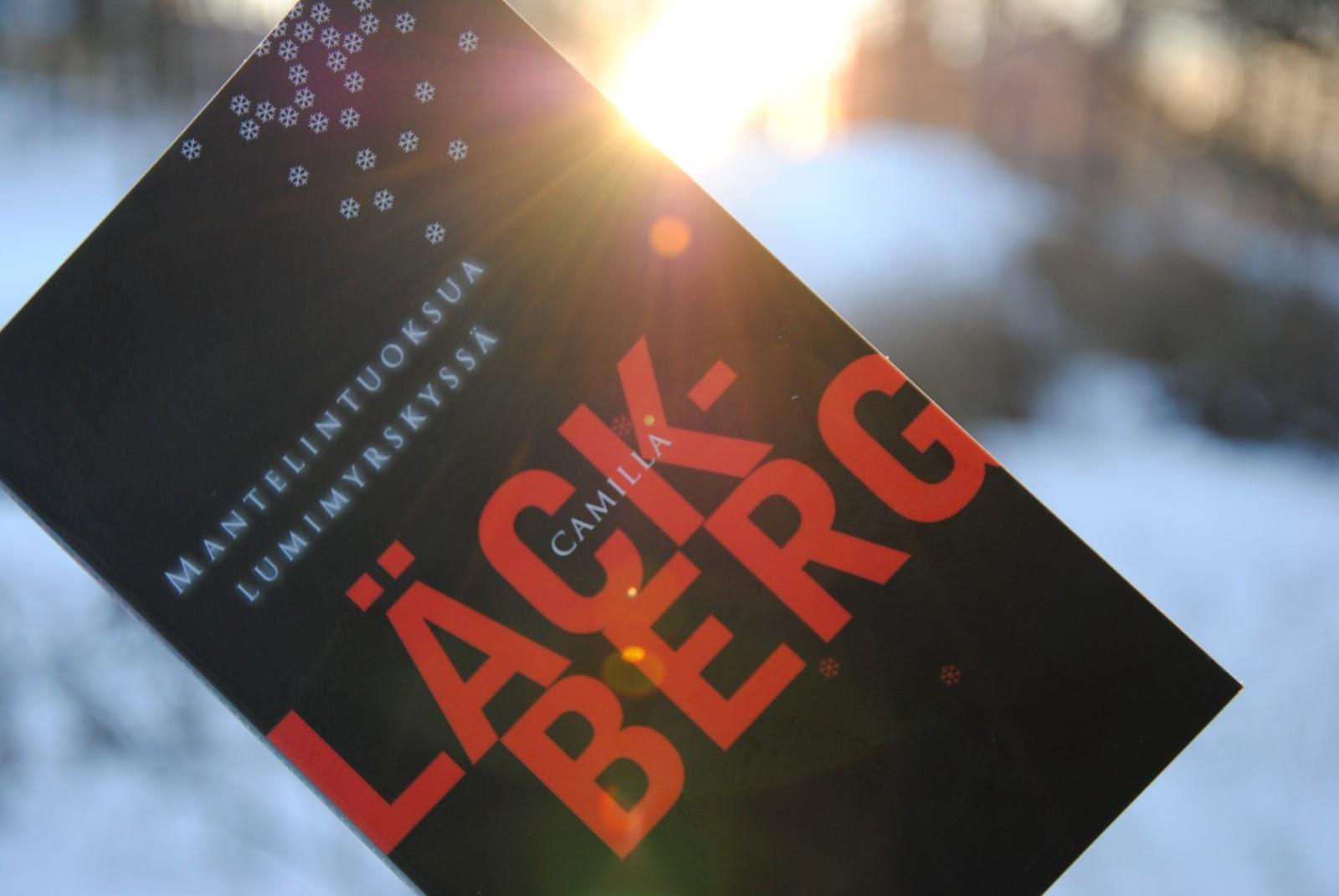 läckberg mantelintuoksua lumimyrskyssä