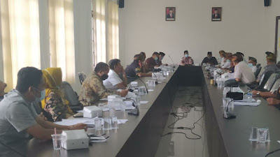 DPRD Lotim Lanjutkan Rapat Evaluasi Anggaran 2020 Dengan TAPD