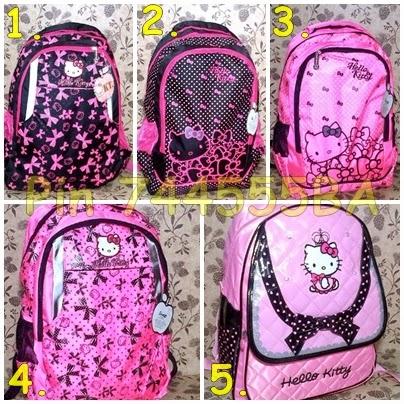Tas Sekolah Anak Perempuan Hello Kitty TK SD