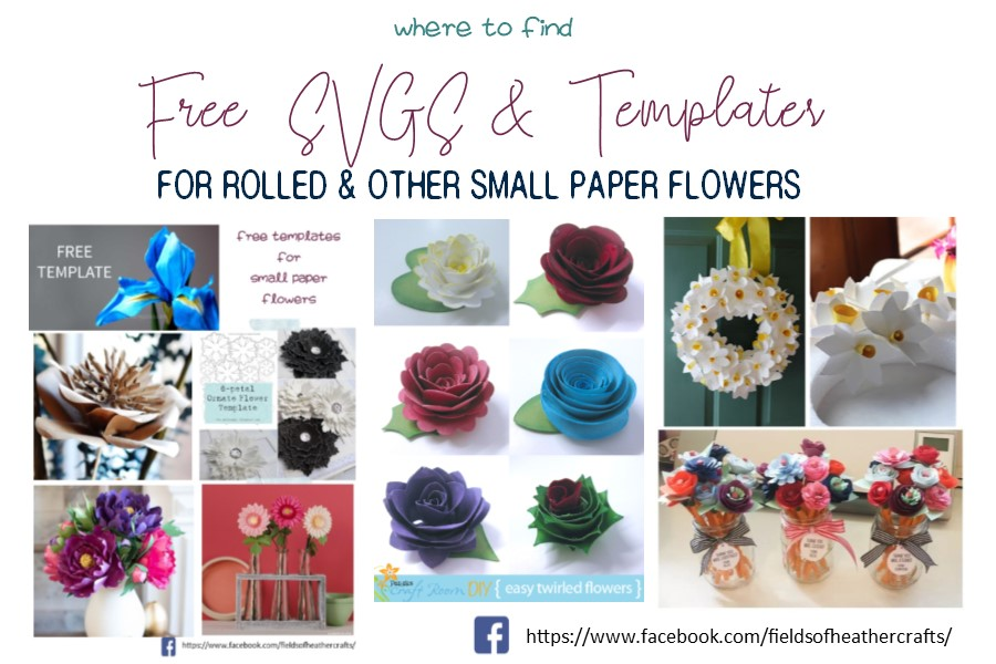 Fields Of Heather Free Templates Tutorials For Making Rolled
