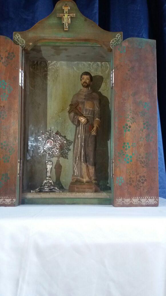 Mucambo recebe relíquia e imagem peregrina de São Francisco de Assis