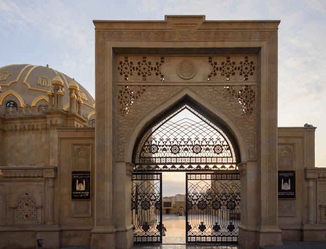 Taza Pir Mosque, Teze Pir, Teze-Pir, Tezepir, Moschee in Baku Aserbaidschan