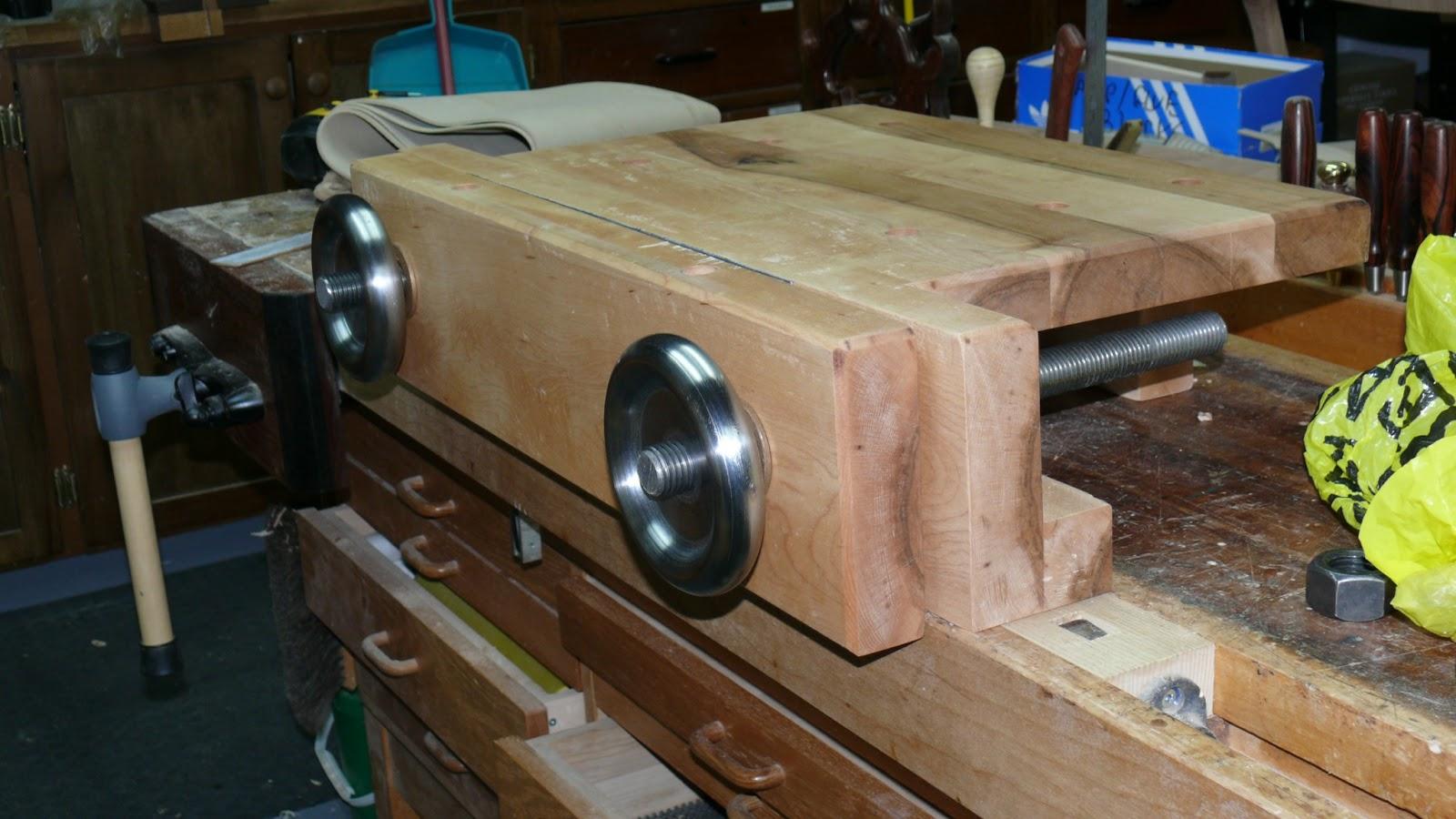 Rich S Woodcraft Hand Tool Bench On Bench Aka Moxon Vise