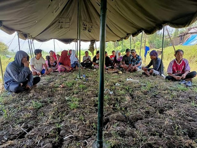 BAZNAS  Lombok Tengah Salurkan Bantuan Kemanusiaan Untuk Korban Bencana Allam Angin Puting Beliung di Desa Monggas, Kecamatan Kopang.