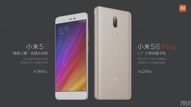 Xiaomi lança Mi5s e Mi5s Plus - Preço, Especificações e Fotos