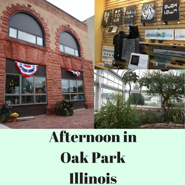 Family afternoon in Oak Park, Illinois