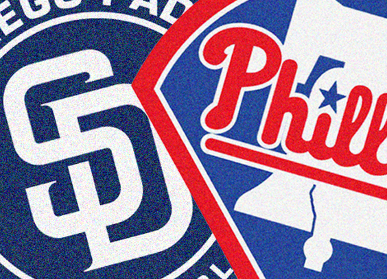 Phillies face the Padres
