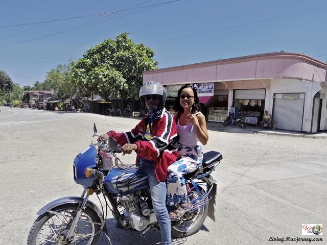 Land tour via motorcycle in Samal