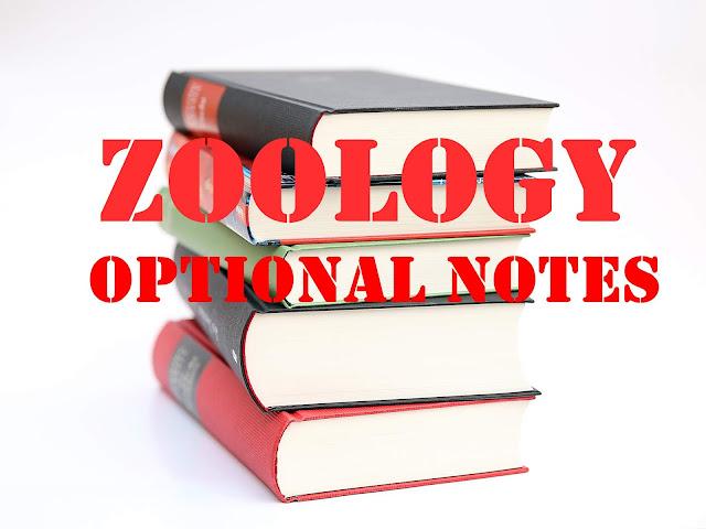 ZOOLOGY OPTIONAL NOTES by Kajal Jawla
