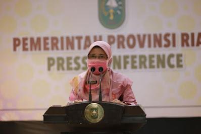 Update Covid-19 Riau: Pekanbaru Zona Merah, Kasus Kematian 14 Orang dan Penambahan Kasus Positif 23 Klaster Keluarga