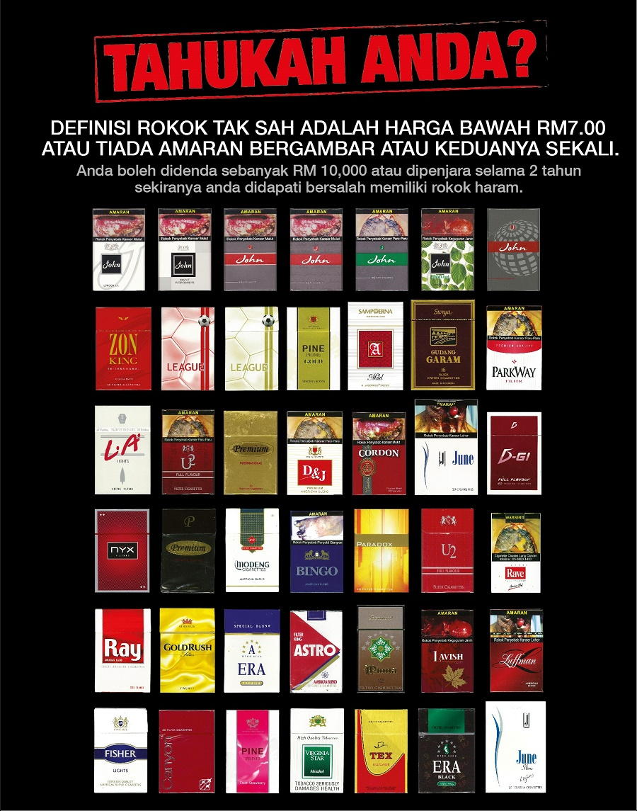 Cheap Illegal Cigarettes Available In Malaysia