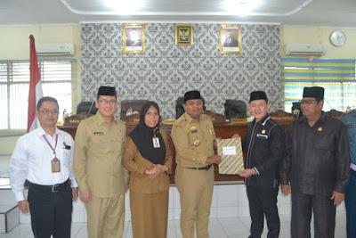 Pengesahan Hibah Tanah Kemenag Tanjungbalai Oleh DPRD Kota Tanjungbalai