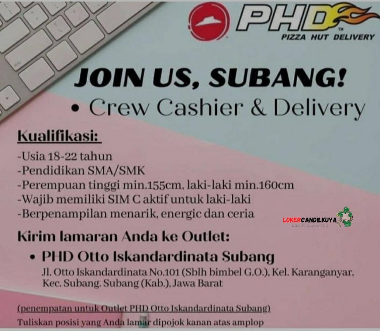 Lowongan Kerja PHD Subang