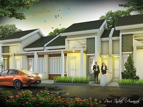 LINGKAR WARNA: Desain rumah minimalis type 52 2 kamar ...