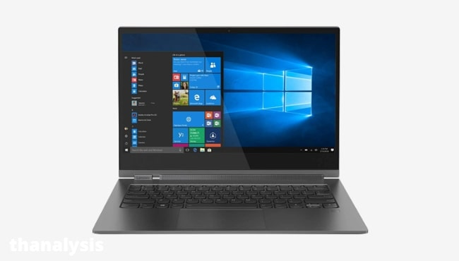 7 Best laptop for making paintings: Lenovo Yoga C930 - 512GB SSD Storage