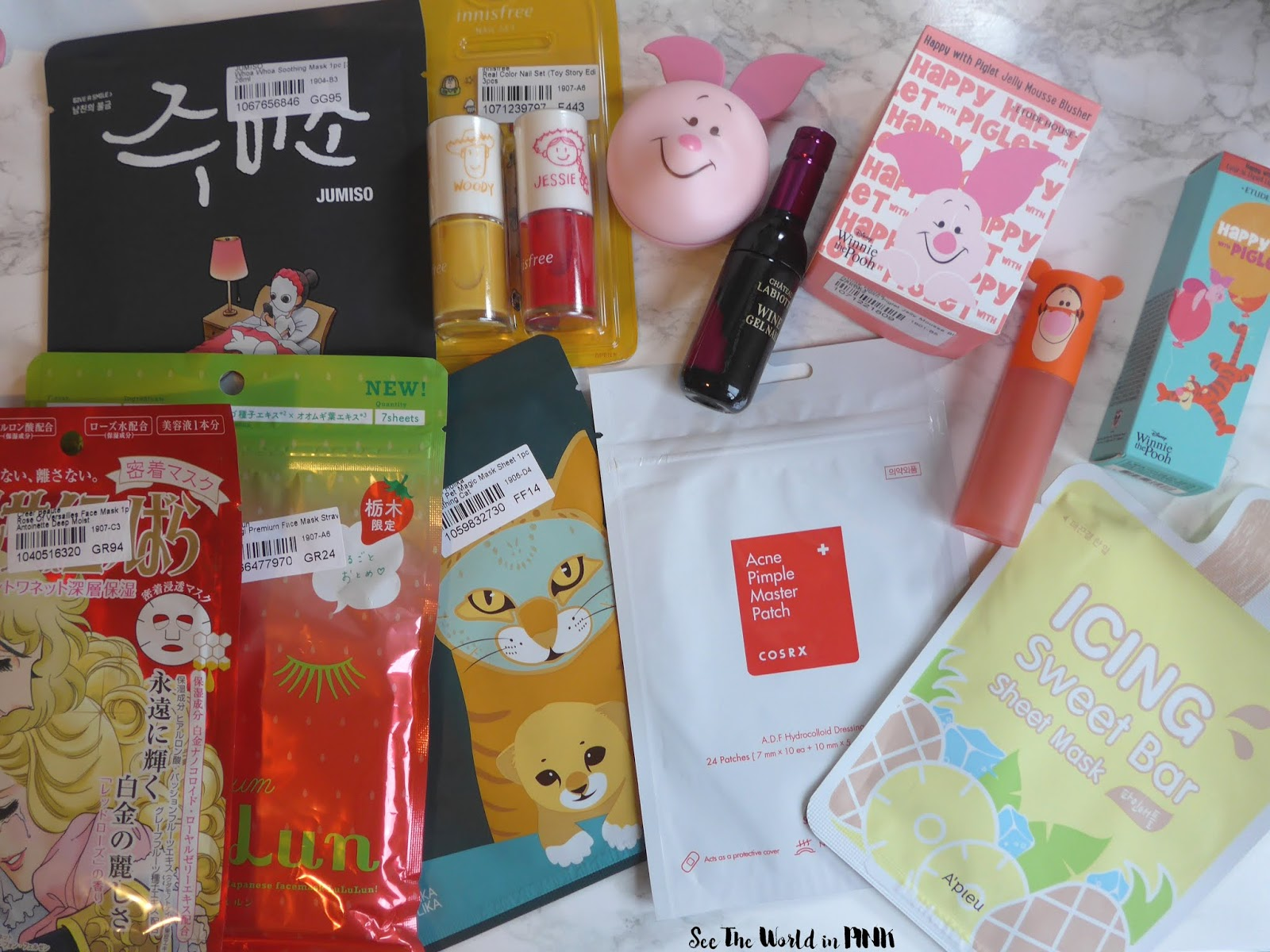 August 2019 What I Bought - Monthly Haul!