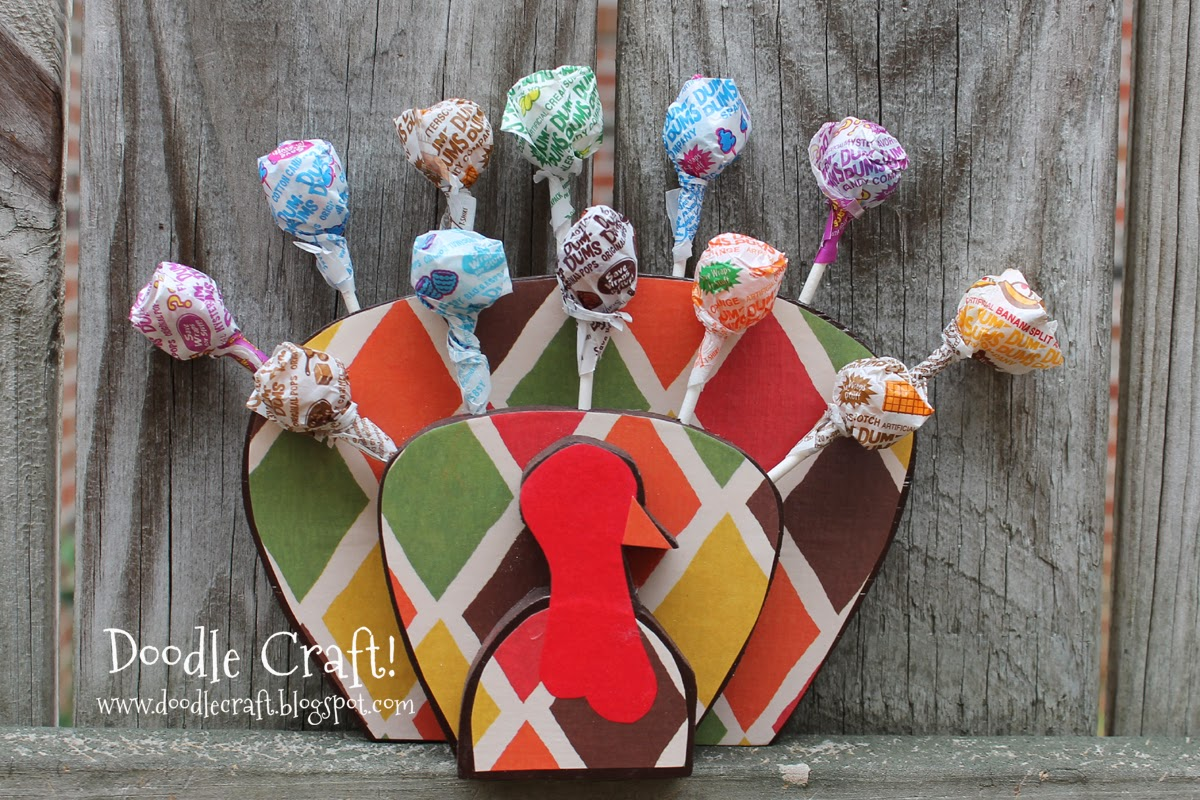 http://www.doodlecraft.blogspot.com/2012/11/turkey-lollipops.html