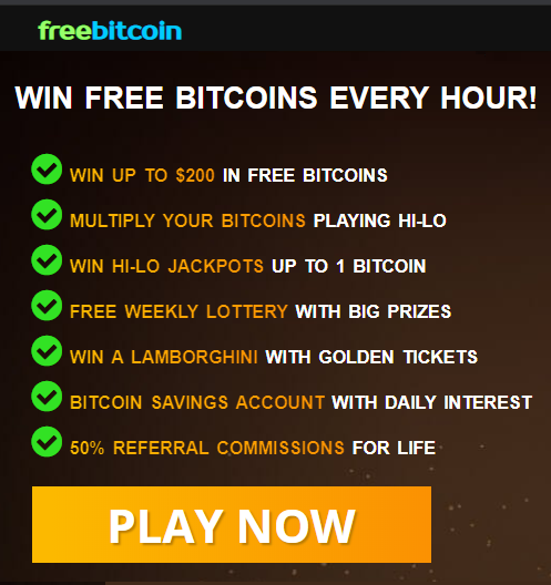 win free bitcoins every hour on the hour