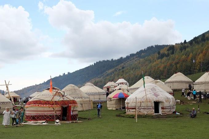 ¿Cansado de distanciamiento social en casa? Prueba el glamping mongol