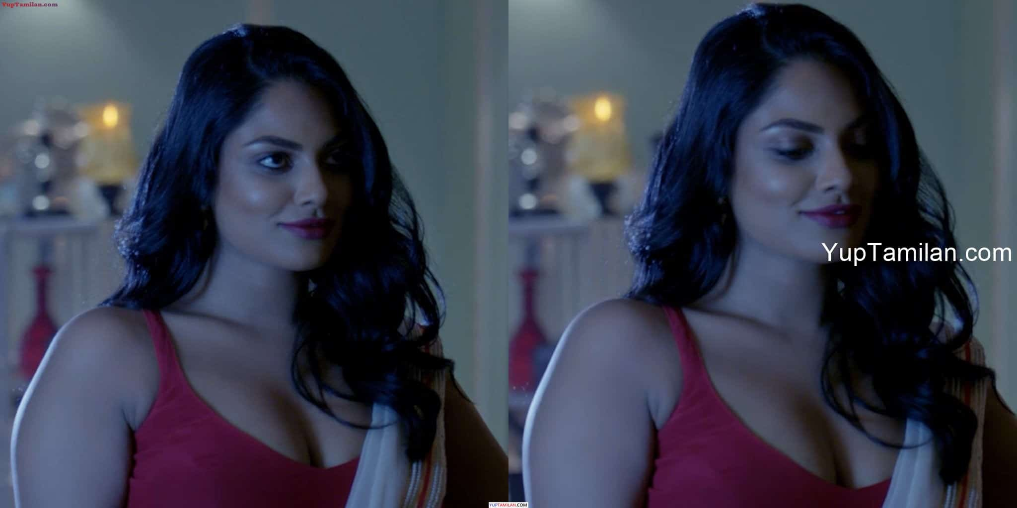 Model Chandrika Ravi sexy Cleavage & Navel Pictures