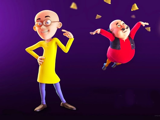 Motu Patlu and samosa HD Images