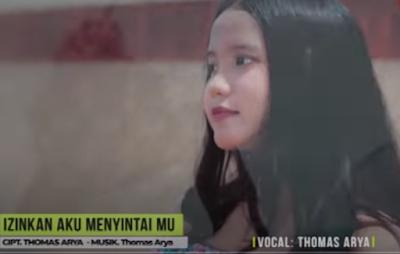 Lirik Lagu Pof Malaysia Thomas Arya - Izinkan Ku Menyintamu