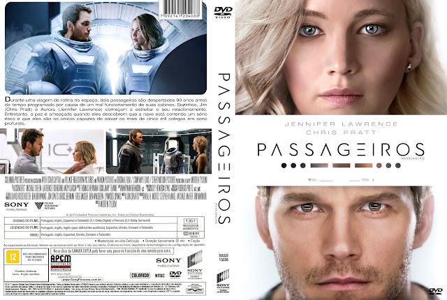 Capa DVD Passageiros