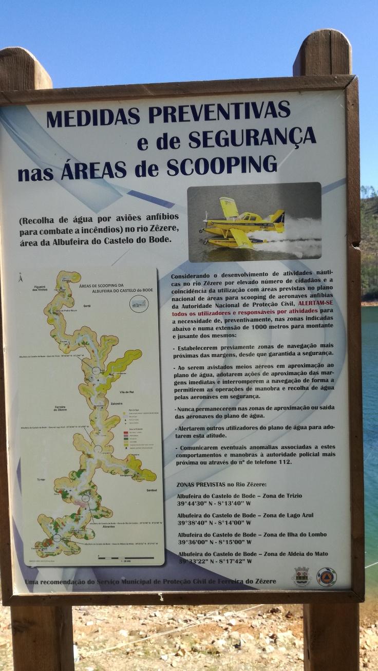 Medidas preventivas e de segurança nas áreas de scooping