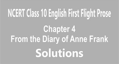 Chapter 4 From the Diary of Anne Frank