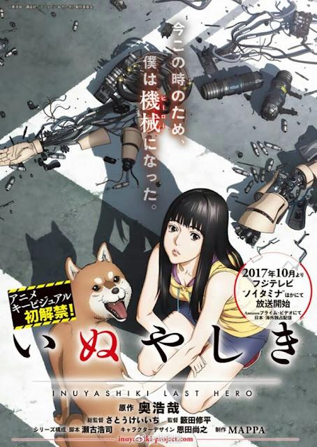 Poster anime Inuyashiki / いぬやしき