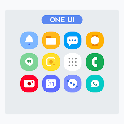Samsung Galaxy S10 Icon Pack