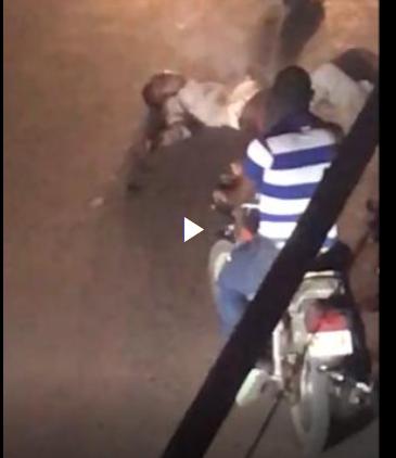 Turba golpea salvajemente a un ladrón en El café de Herrera