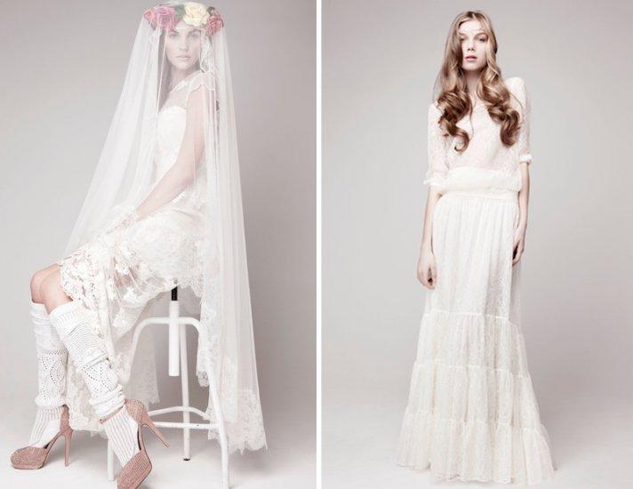 How About Having A Bohemian Wedding Dress