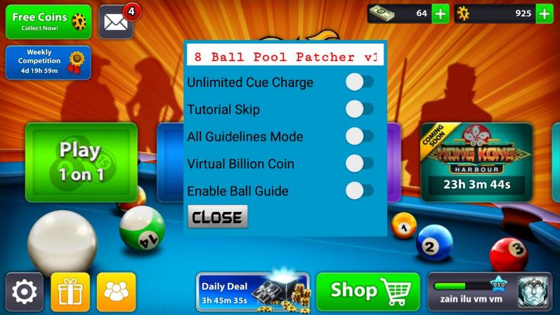8 ball pool mod money apk 3.9.1