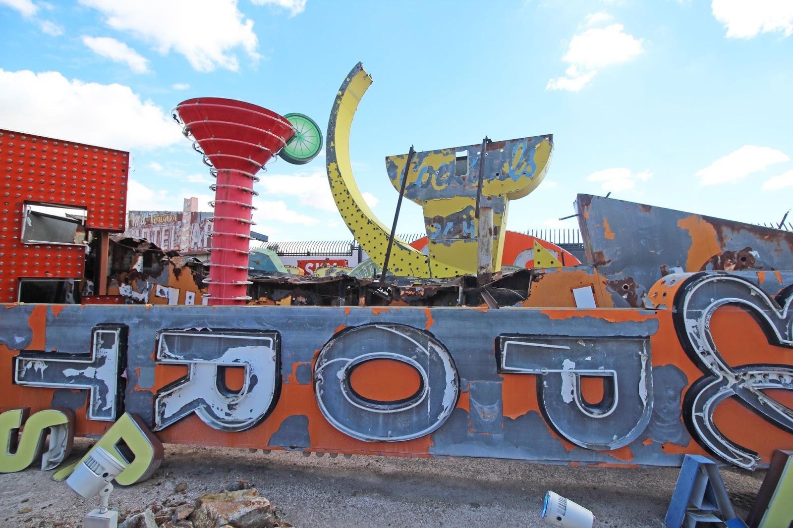 neon boneyard visit makingrestorations